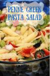 Penne Greek Pasta Salad
