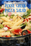 Penne Greek Pasta Salad Recipe The Perfect Side Dish