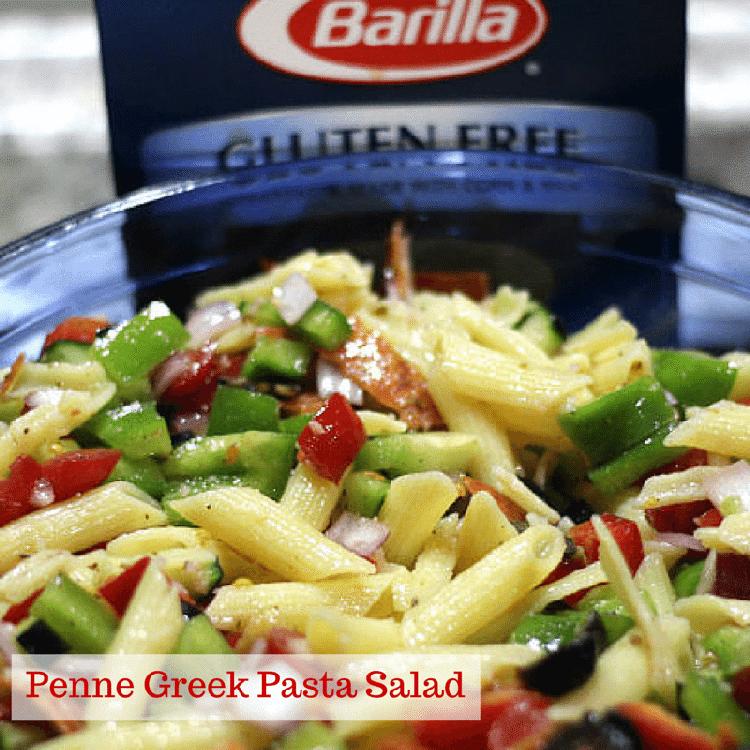 Penne Greek Pasta Salad Recipe The Perfect Side Dish 9