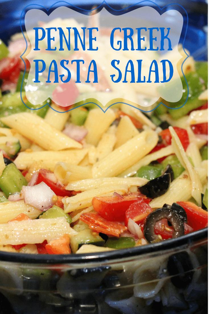 Penne Greek Pasta Salad Recipe The Perfect Side Dish