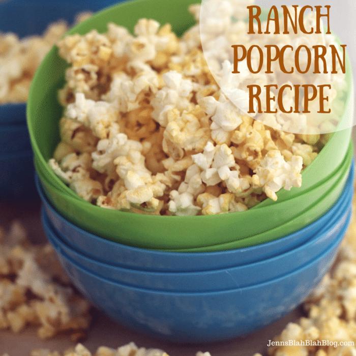 Ranch Popcorn Recipe