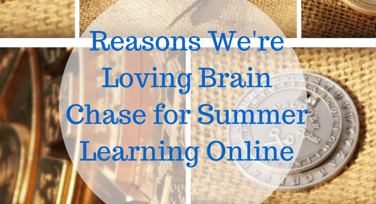 Reasons We're Loving Brain Chase for Summer Learning Online
