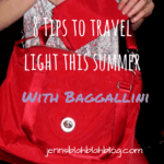 8 Tips To Travel Light This Summer With Baggallini