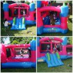 Family Fun With Sidekick Bounce House From Blast Zone!