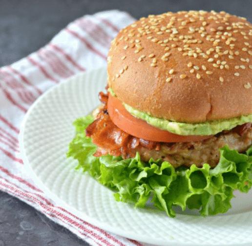 Chicken BLT Burgers