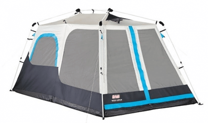 Coleman Instant Cabin 8 W Mini Fly Tent   Fitness   Sports   Outdoor Activities   Camping   Hiking   Tents