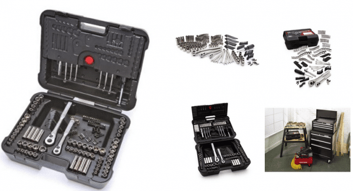 Craftsman 220 pc. Mechanic s Tool Set  Outfit Your Garage at Kmart
