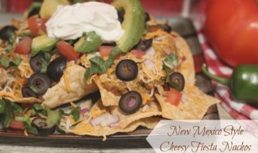 New Mexico Style Cheesy Fiesta Nachos