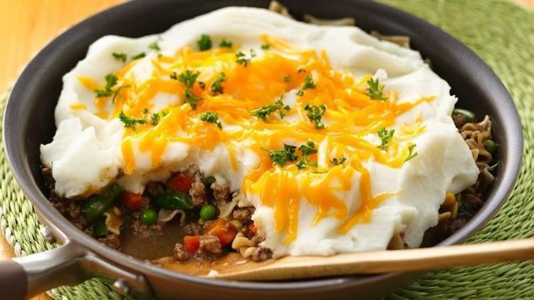 3 Quick and Easy Dinner Ideas with Hamburger Helper® 5