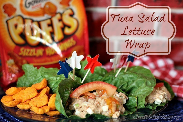 Tuna Salad Lettuce Wrap