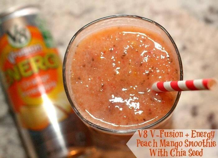 5 Tips for Natural Energy + Peach Mango Energy Smoothie Recipe