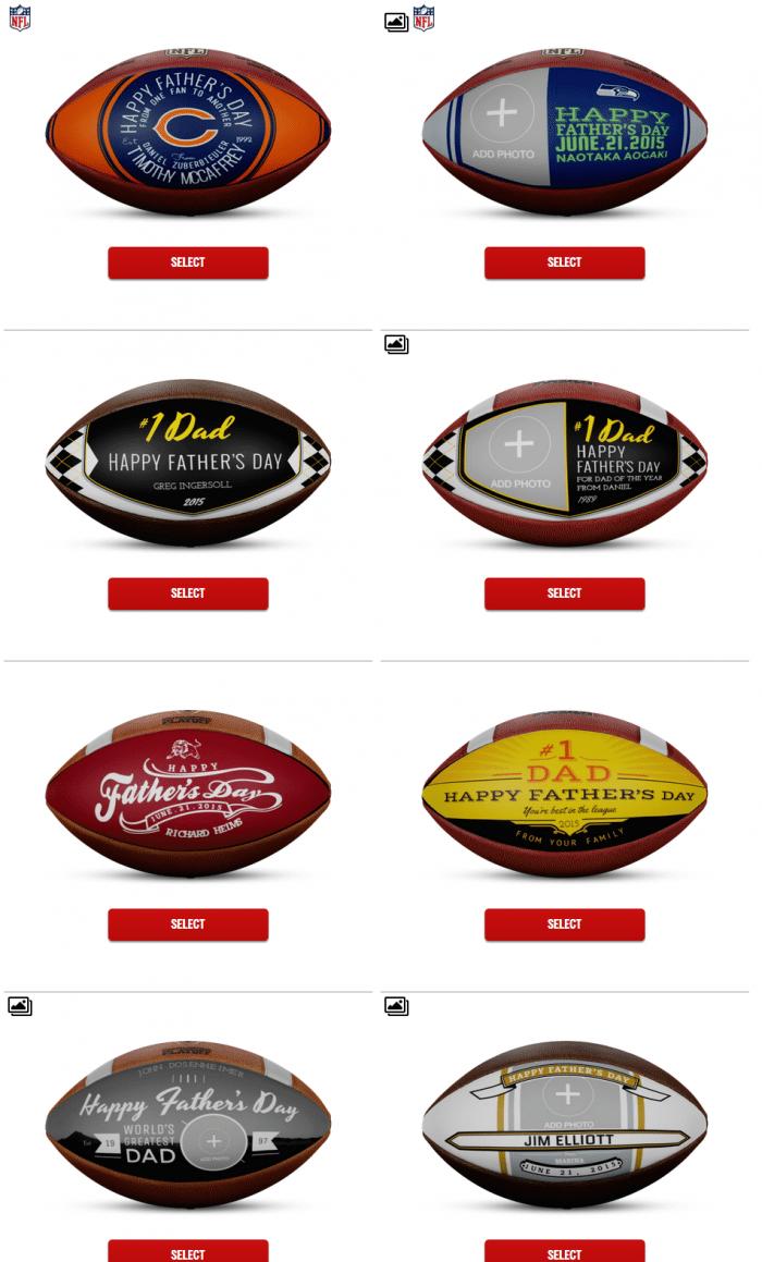 Wilson Custom Works   Football Customizer