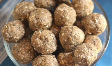 Energy Bites – No Bake Peanut Butter Balls Recipe with Chia Seed