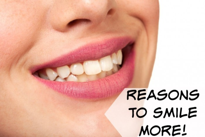 reasons to smile more