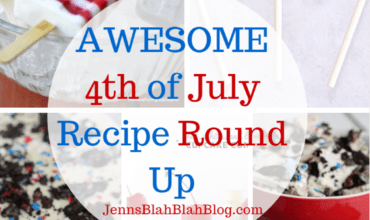 Awesome Red White & Blue 4th of July Recipes
