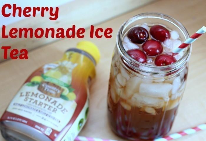 Cherry Lemonade Ice Tea
