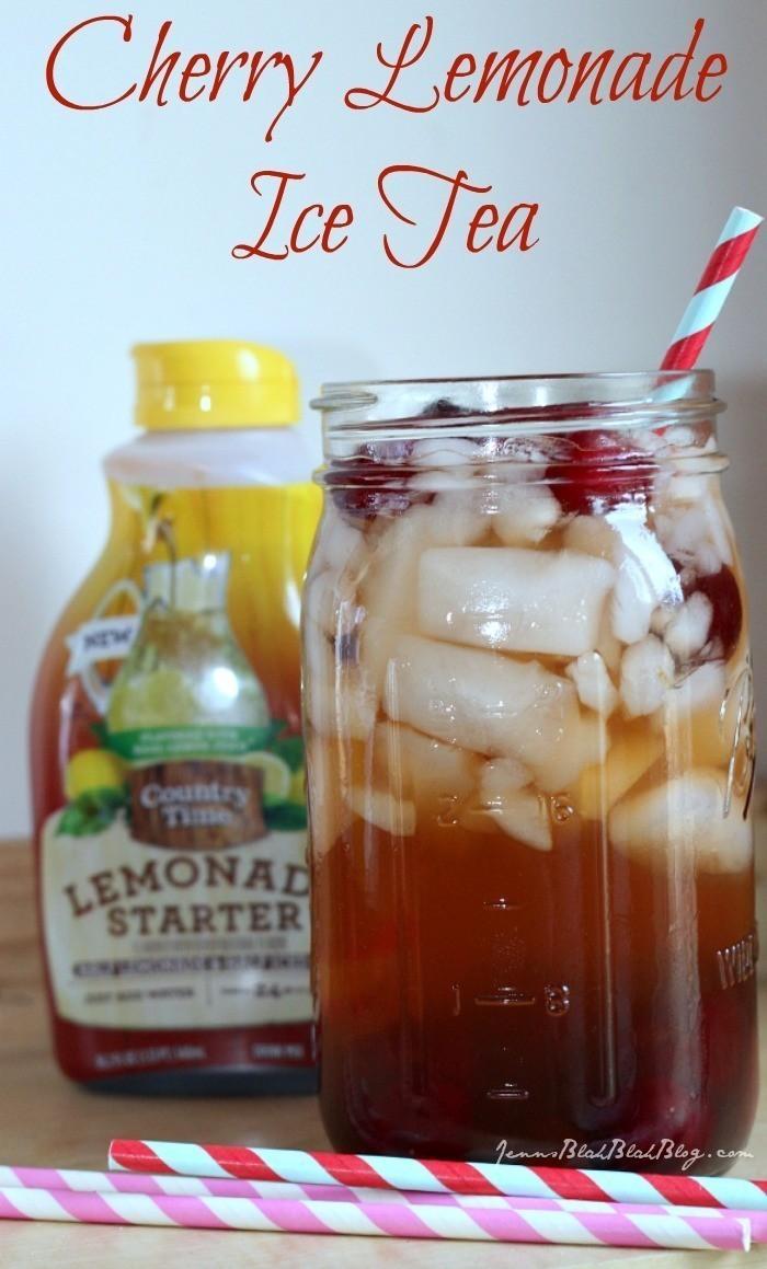 Cherry Lemonade Ice Tea recipe