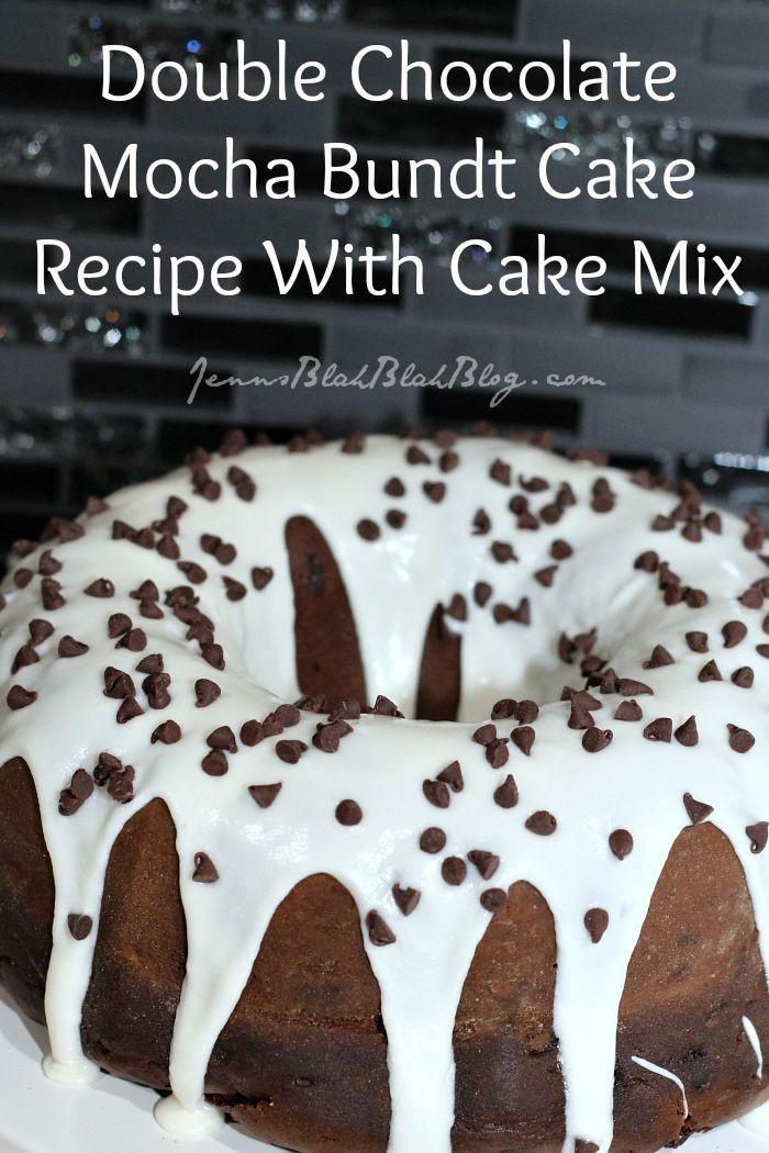 Double Chocolate Mocha Bundt Cake Recipe Cake Mix