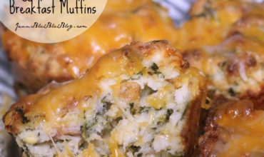 Sausage Spinach & Egg Breakfast Muffins Perfect for Brunch