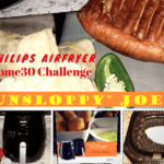 """Unsloppy"" Joes with Philips Airfryer 