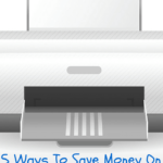 5 Ways To Save Money On Printer Ink