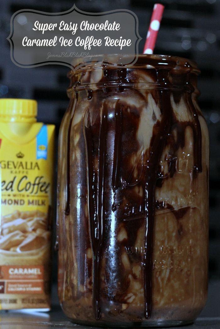 easy ice coffee recipe