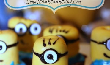 DIY Easy Minions Brownies Recipe | Minions Party Ideas