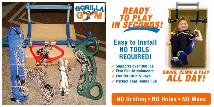 Gorilla Gym, Kids Stay Active & Healthy While Playing Indoors!