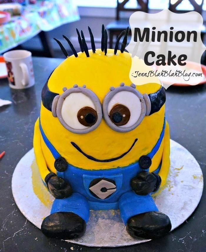 How Do I Make A Minion Cake