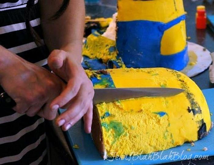 minion cake recipe