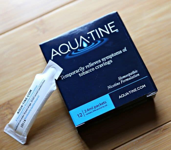 AQUA-TINE FOR SMOKING