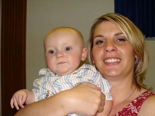 AUNT JENN AND CORBIN