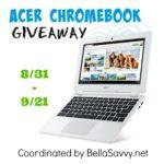 Enter to Win the Acer Chromebook Giveaway