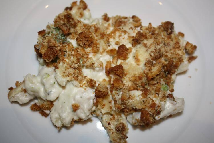 Gluten Free Chicken Alfredo Casserole Recipe