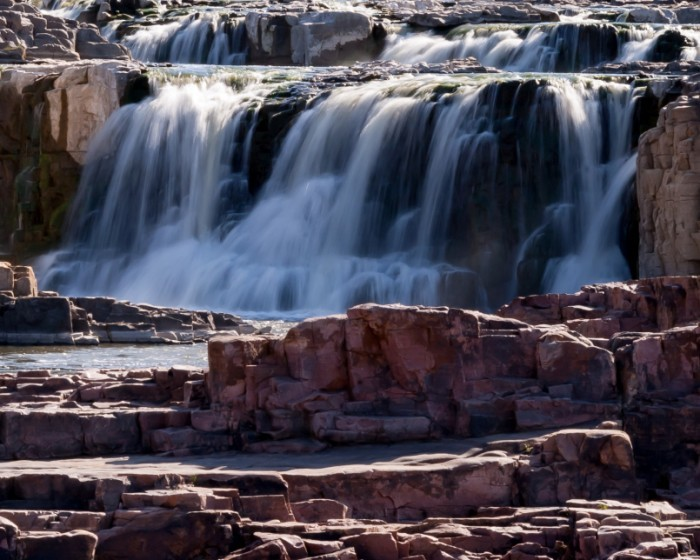 Waterfalls of the Big Sioux River