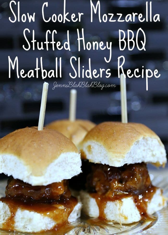... Cooker Mozzarella Stuffed Honey BBQ Meatball Sliders | ShopYourWay