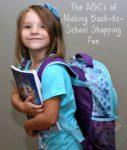 The ABC's Making Back-to-School Shopping Fun