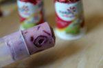 easy very cherry frozen yogurt pop