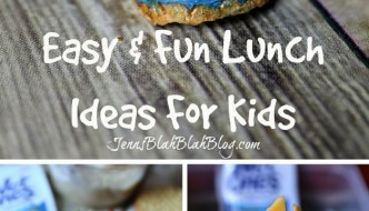 fun and easy lunch ideas for kids