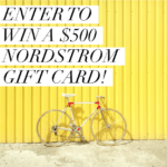 $500 Nordstrom Gift Card or Cash (via Paypal)