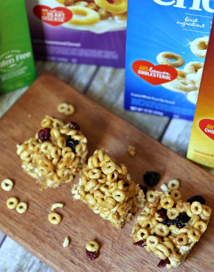gluten free cereal bar recipe