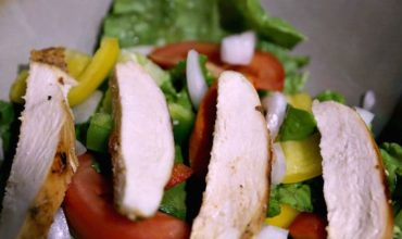 Honey Baked Chicken Breast Salad Recipe