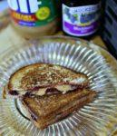 peanut butter and jelly grilled