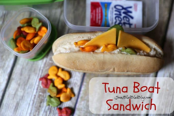Easy & Fun Back To School Lunch Idea – Tuna Boat Sandwich