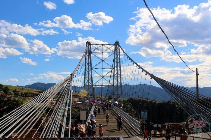 Royal Gorge Bridge in Colorado