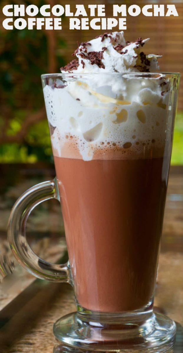 Chocolate Mocha Coffee Recipe + Giveaway