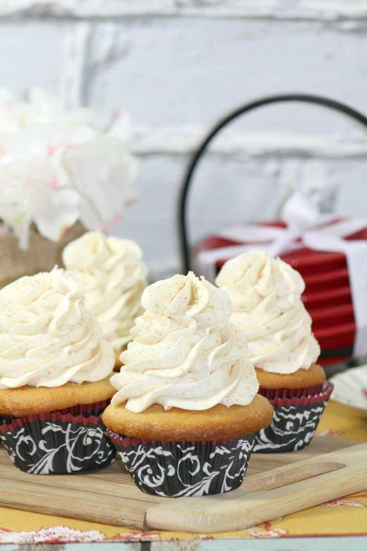 Chia Tea Spiced Cupcakes