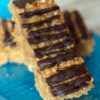 No Bake Frosted Flakes Peanut Butter Cereal Bars Recipe