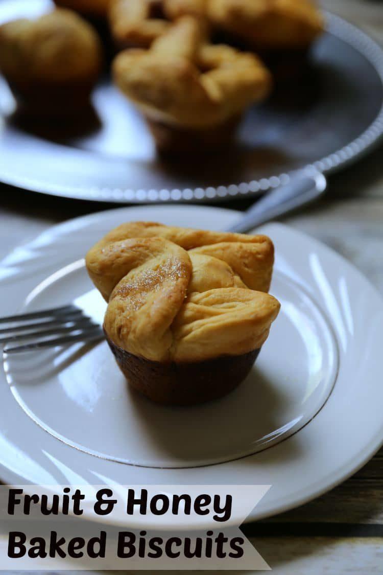 Fruit & Honey Baked Biscuits | www.jennsblahblahblog.com | @jenblahblahblog