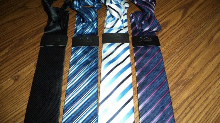Never Tie a Tie Again with a GoTie